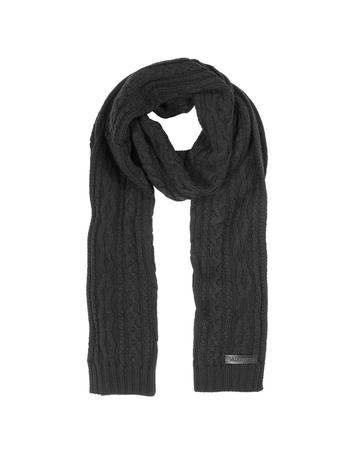 Lux-ID 230009 Cable-knit Wool Men's Long Scarf