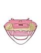 Rockstud Medium Ninphea Pink Leather Tote - Valentino