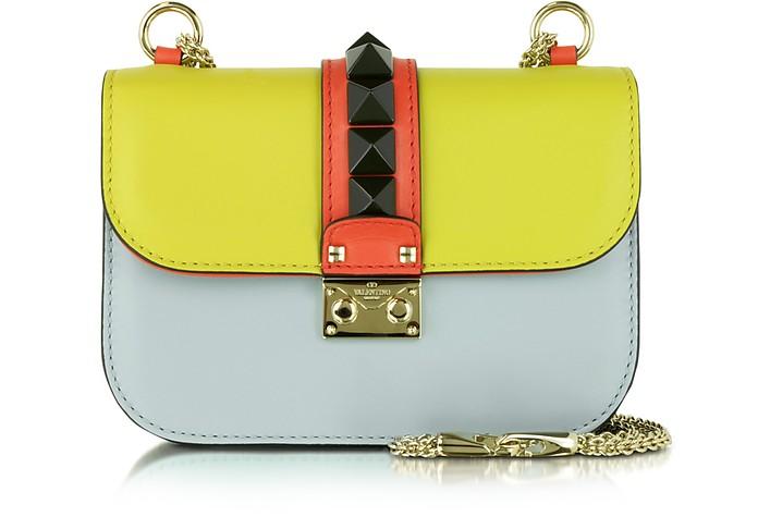 Multicolor Leather Small Shoulder Bag - Valentino