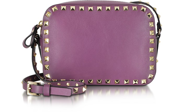 Rockstud Small Leather Crossbody Bag - Valentino
