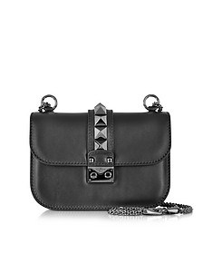 Noir Small Chain Shoulder Bag - Valentino