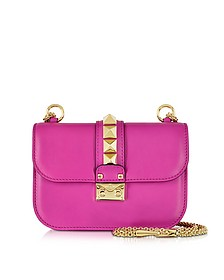 Fuxia Leather Shoulder Bag - Valentino