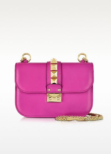 Fuxia Leather Shoulder Bag - Valentino