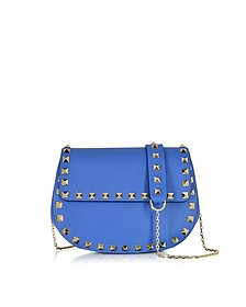 Rockstud Leather Saddlebag - Valentino