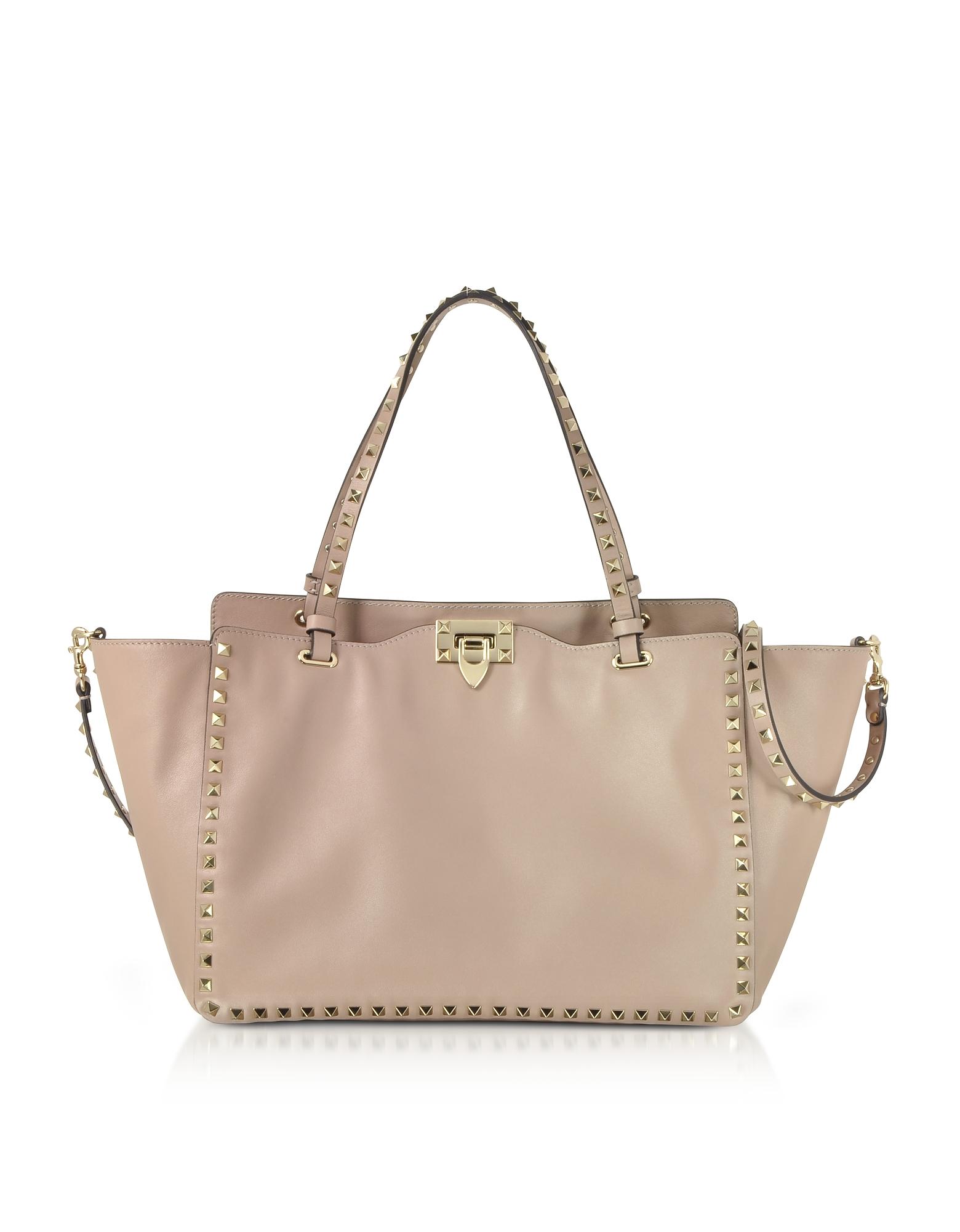 Valentino Handbags, Rockstud Medium Leather Tote