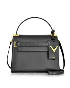 My Rockstud Small Black Leather Single Handle Bag - Valentino