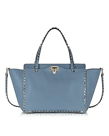 Rockstud Avion Leather Medium Tote - Valentino