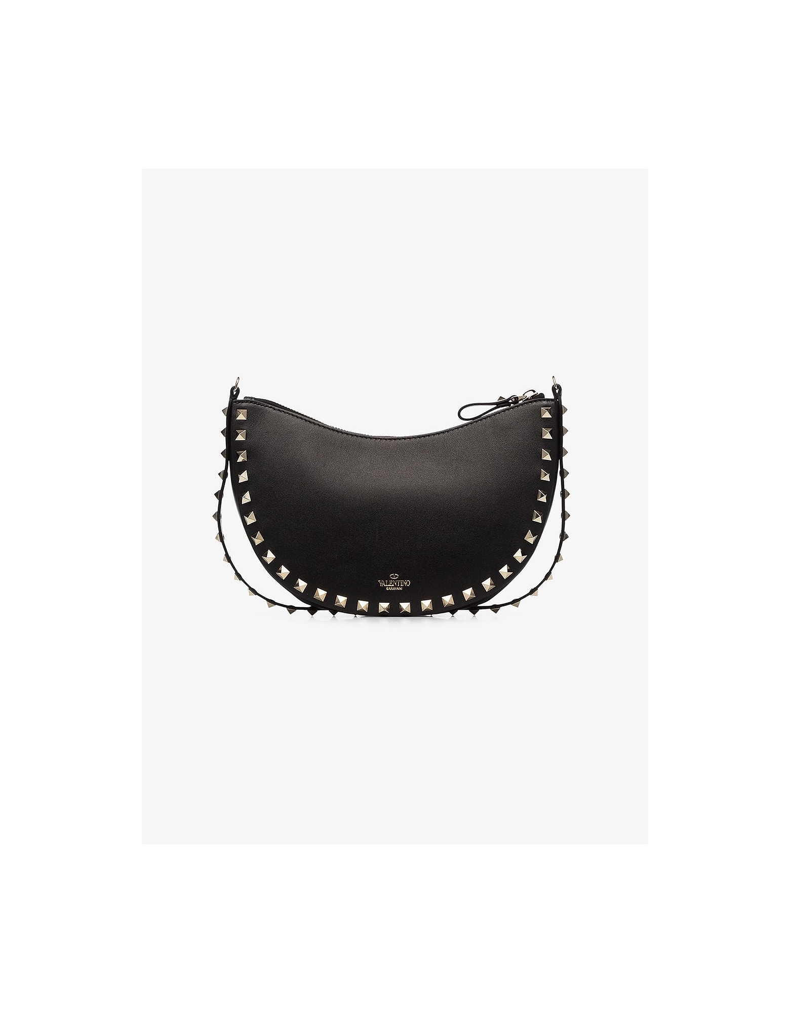 Valentino Designer Handbags, Black Garavani Rockstud Mini Bag