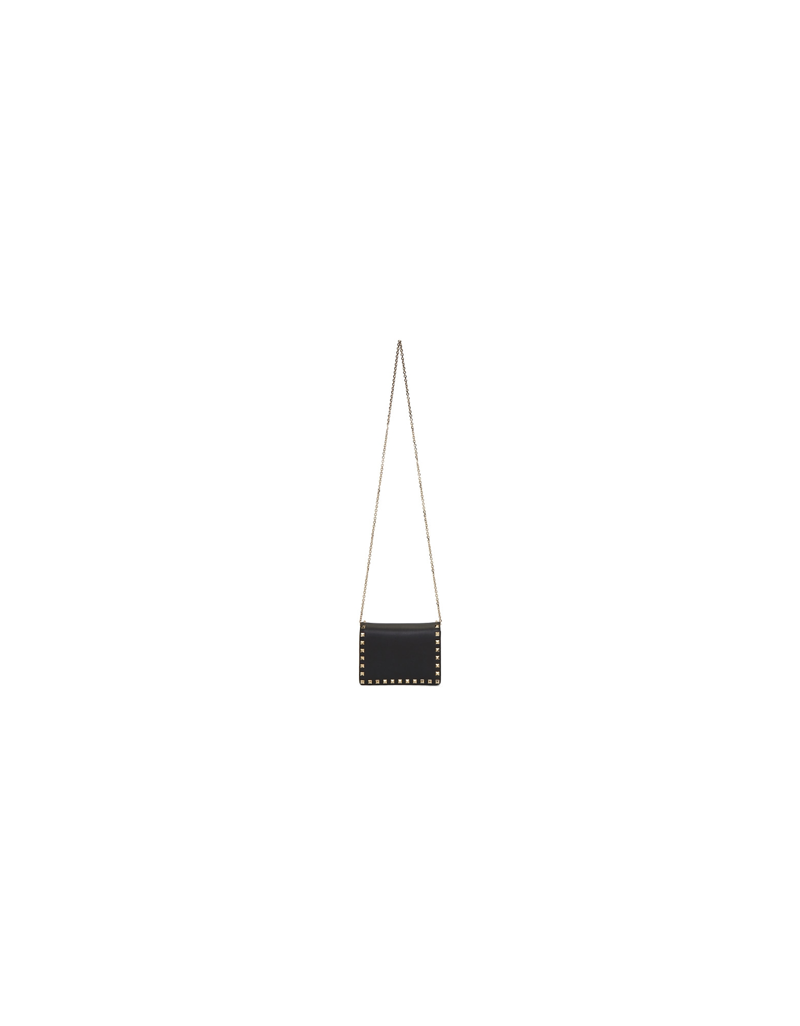 Valentino Designer Handbags, Black Valentino Garavani Mini Rockstud Bag