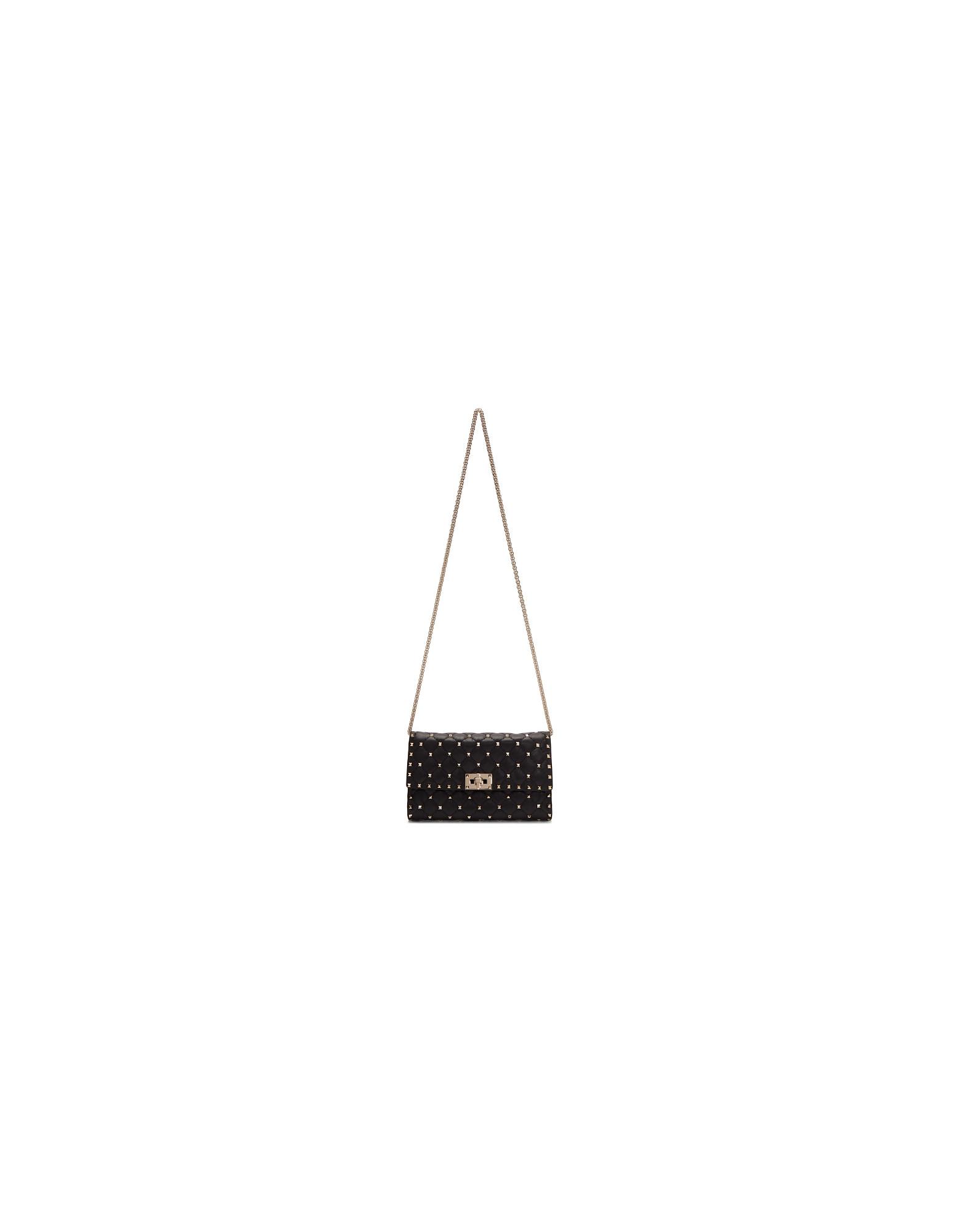 Valentino Designer Handbags, Black Valentino Garavani Rockstud Bag
