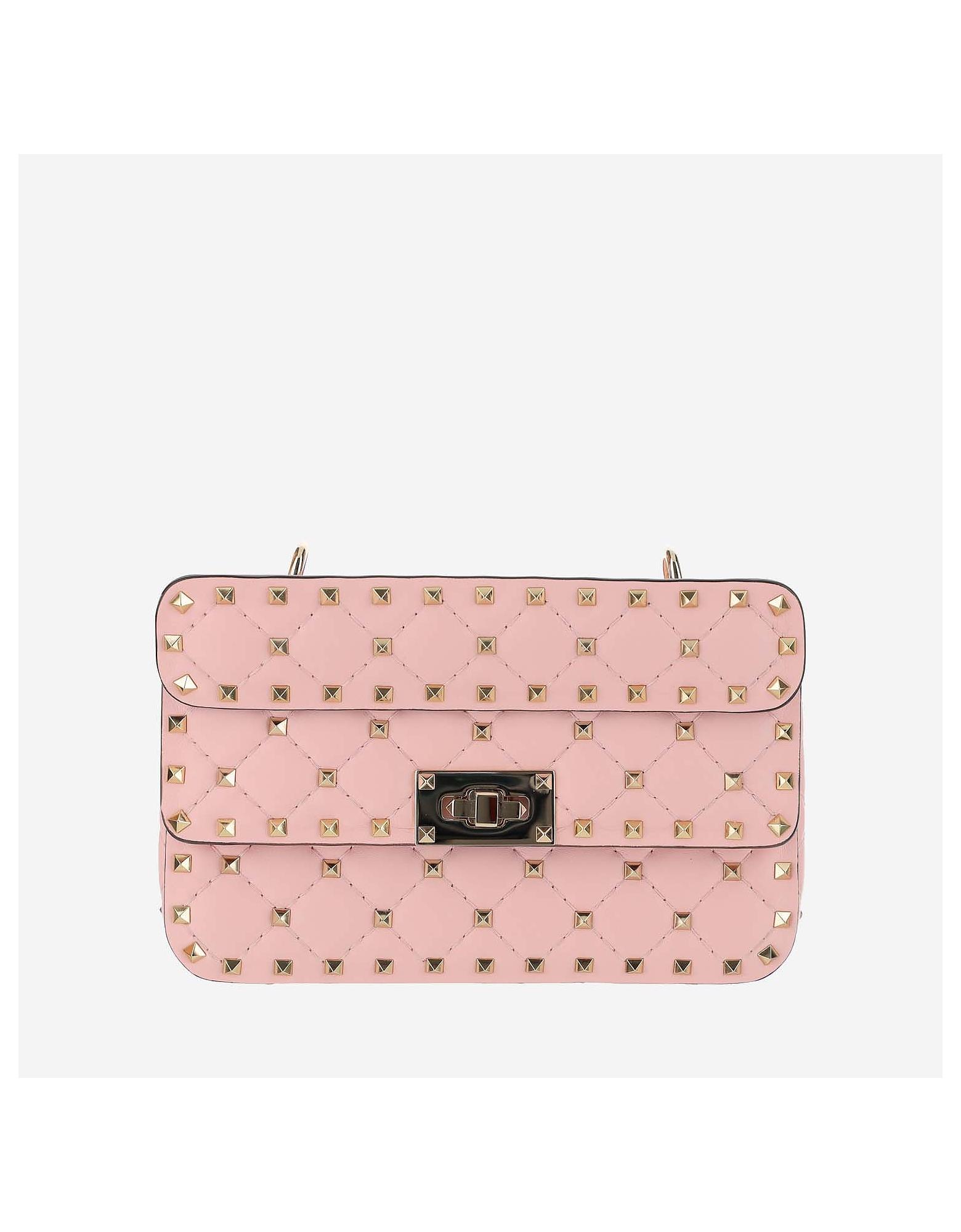 Valentino Designer Handbags, Pink shoulder
