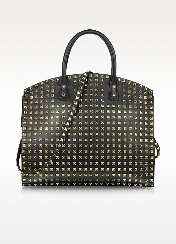 Rockstud Leather Tote  - Valentino