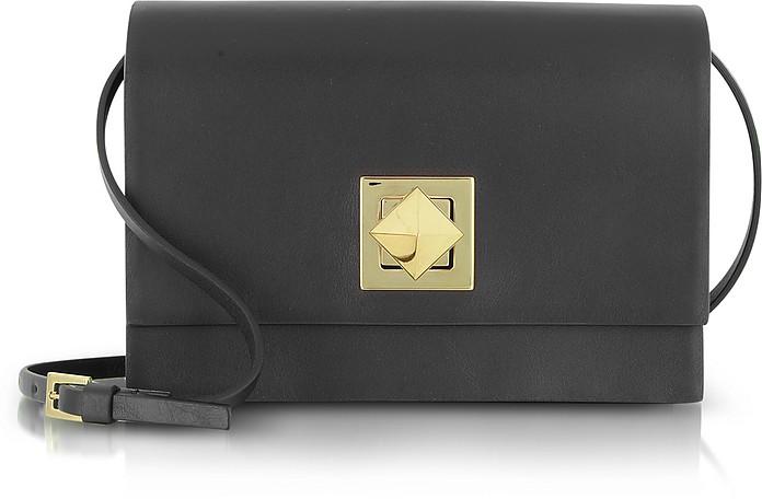 Rockstud - Leather Flap Bag - Valentino