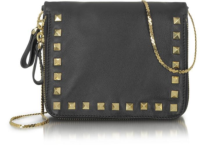 Rockstud - Zippered Shoulder Bag - Valentino