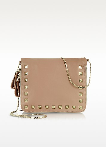 Rockstud - Zippered Shoulder Bag - Valentino