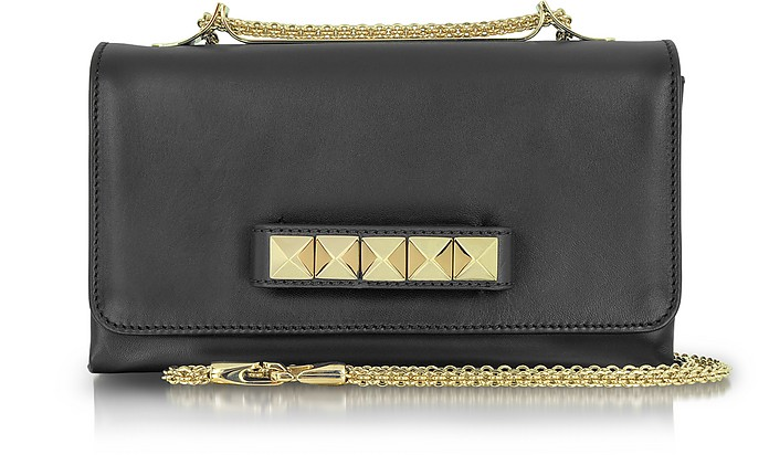 Rockstud Leather Shoulder Bag - Valentino
