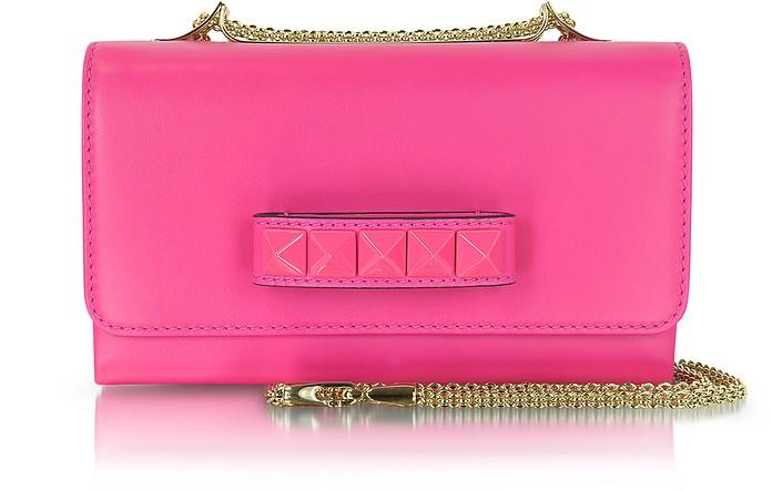 Pop Rockstud Leather Shoulder Bag - Valentino