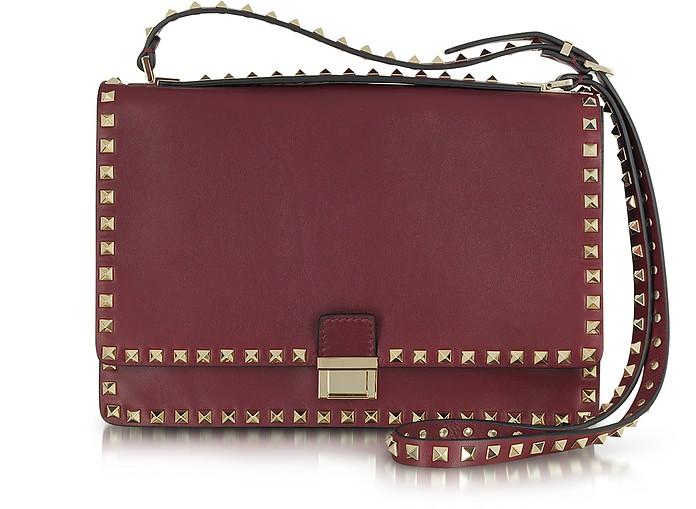 Rockstud Nappa Leather Shoulder Bag - Valentino