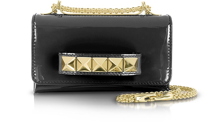 Va Va Voom Mini Patent Leather Shoulder Bag - Valentino