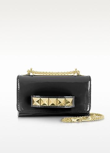 Va Va Voom Mini Patent Leather Shoulder Bag - Valentino