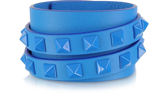 Double Rockstud Wrap Bracelet - Valentino