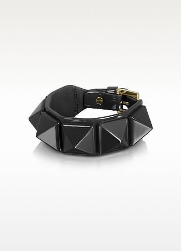 Rockstud Patent Leather Bracelet - Valentino
