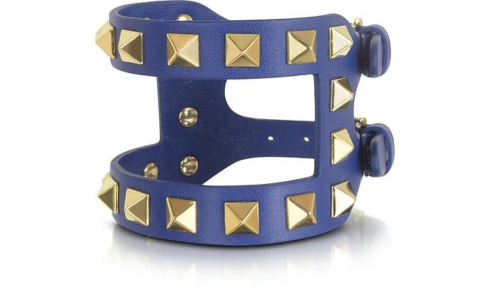 Rockstud Double Leather Bracelet - Valentino