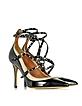 Love Latch Black Patent Leather Ankle Strap Pump  - Valentino