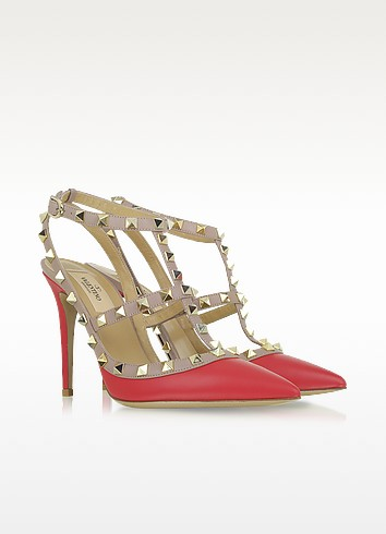 Rockstud - Nappa Leather Slingback Pump - Valentino