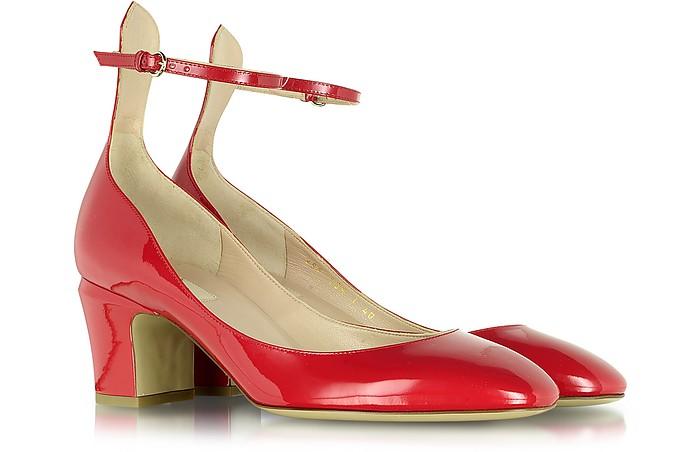 Tango Red Patent Leather Pump - Valentino