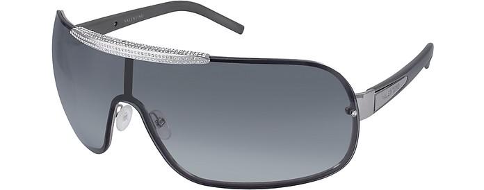 Crystal Shield Sunglasses - Valentino