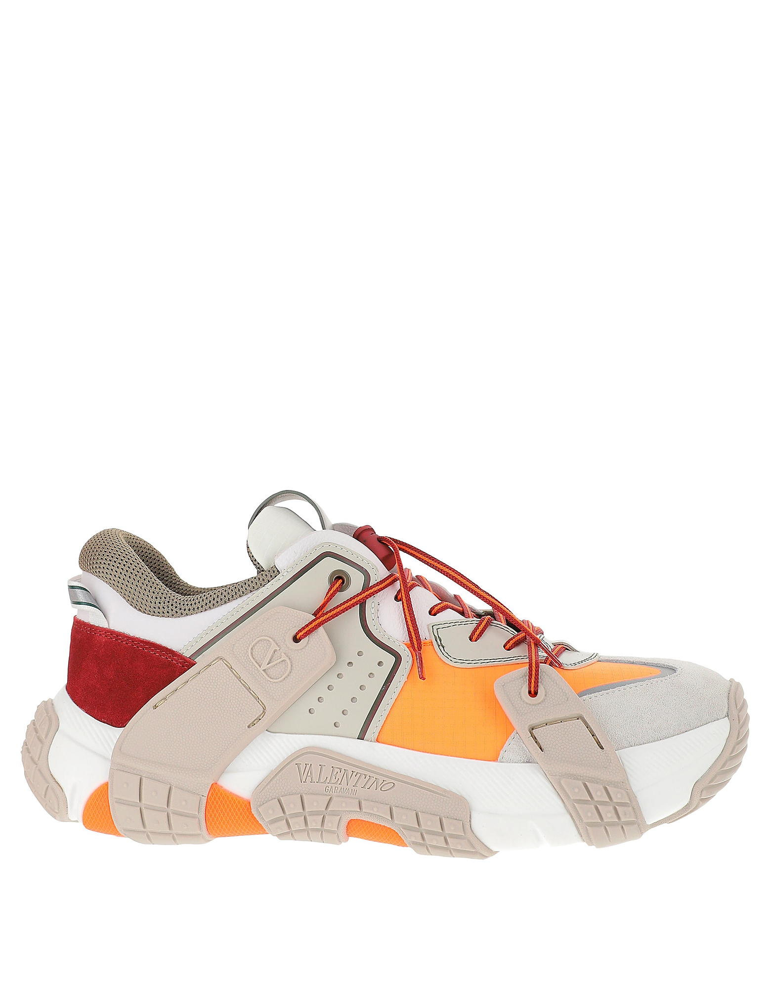 Valentino Designer Shoes, Color Block Low Top VLTN Wod Sneakers