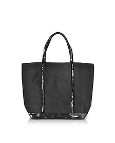 Cabas Petite Canvas Small Tote Bag - Vanessa Bruno