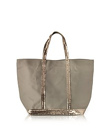 Les Cabas Medium Cotton and Sequins Tote - Vanessa Bruno