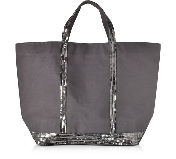 Les Cabas Large Cotton and Sequins Tote - Vanessa Bruno