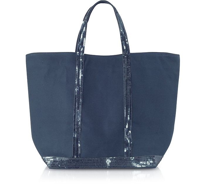 Medium Sequined Canvas Tote - Vanessa Bruno