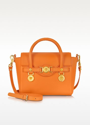 Small Signature Handbag - Versace