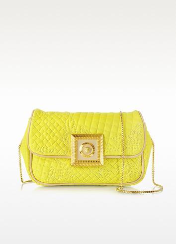 Acacia Micro Vanitas Leather Clutch - Versace