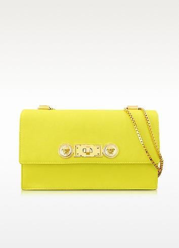 Acacia Leather Shoulder Bag - Versace