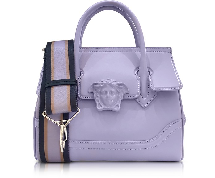 Palazzo Empire Venice Skies Leather Handbag - Versace