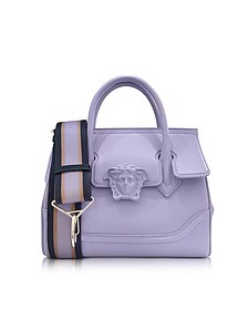 Palazzo Empire Venice Skies Leather Handbag - Versace