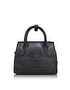 Versace Palazzo Empire Mini Bauletto in Pelle Nera - versace - it.forzieri.com
