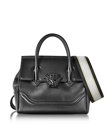 Versace - Palazzo Empire Black Medusa Satchel Bag
