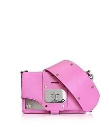 Stardust Racer Pink Leather Mini Shoulder Bag  - Versace