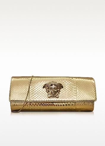 Palazzo Golden Ayers Evening Clutch - Versace
