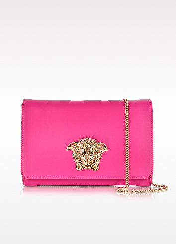 Palazzo Marilyn Pink Leather Crossbody - Versace