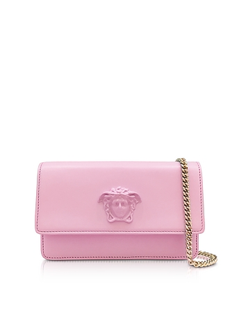 Versace - Palazzo Pink Leather Small Pouch