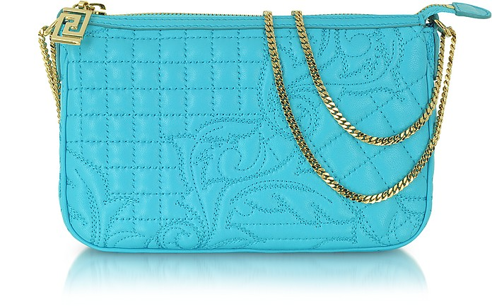 Vanitas Quilted Leather Shoulder Bag - Versace