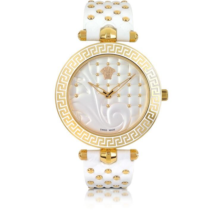 Vanitas White Women's Watch - Versace