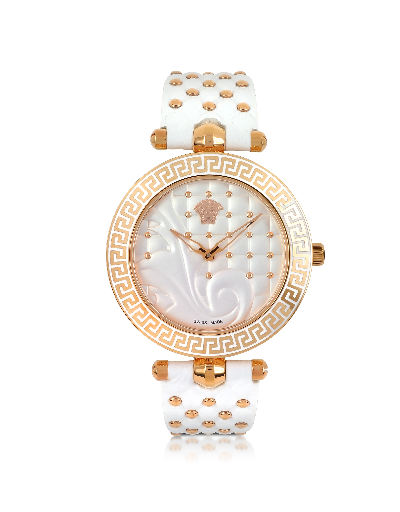 Versace Women's Watches, Vanitas White Women's Watch